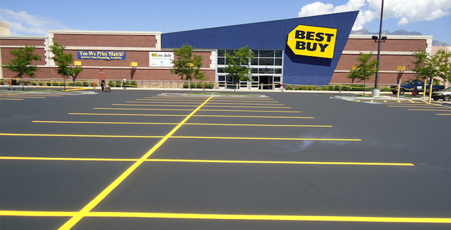 Parking Lot Sealcoating & Striping