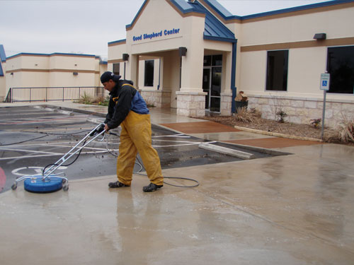 Commercial Pressure Washing 2